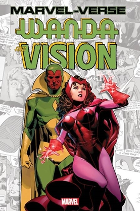 Picture of MARVEL-VERSE GN-TP WANDA & VISION