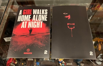 Picture of A GIRL WALKS HOME ALONE AT NIGHT #2 CVR A & B COVER SET NM