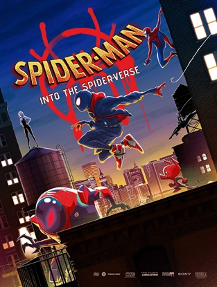 Picture of SPIDER-MAN INTO THE SPIDER-VERSE POSTER BOOK TP