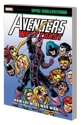 Picture of AVENGERS WEST COAST EPIC COLLECTION TP HOW THE WEST WAS WON