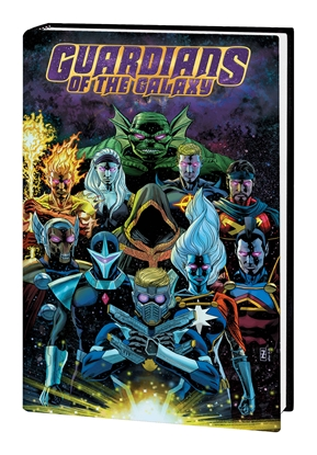 Picture of GUARDIANS OF THE GALAXY BY DONNY CATES HC