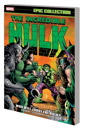 Picture of INCREDIBLE HULK EPIC COLLECTION TP WHO WILL JUDGE THE HULK