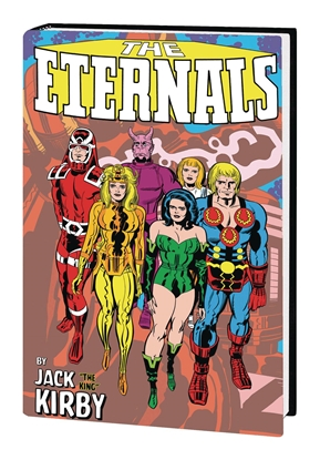 Picture of ETERNALS BY JACK KIRBY MONSTER-SIZE HC