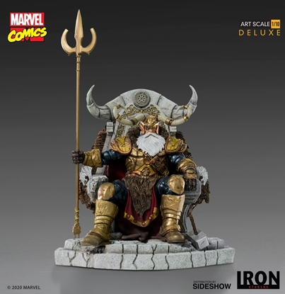 Picture of ODIN DELUXE 1:10 SCALE IRON STUDIOS STATUE