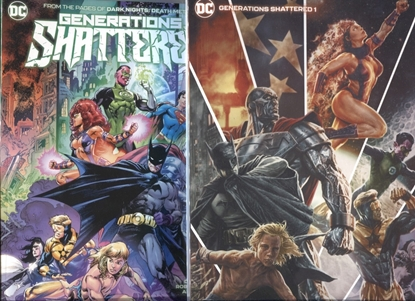 Picture of GENERATIONS SHATTERED #1 (ONE SHOT) COVER A + B SET