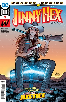 Picture of JINNY HEX SPECIAL #1 (ONE SHOT) CVR A NICK DERINGTON