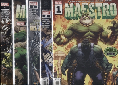 Picture of MAESTRO (2020) #1 2 3 4 5 / 1ST PRINT SET / PETER DAVID-KEOWN
