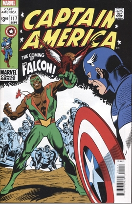 Picture of CAPTAIN AMERICA #117 FACSIMILE EDITION