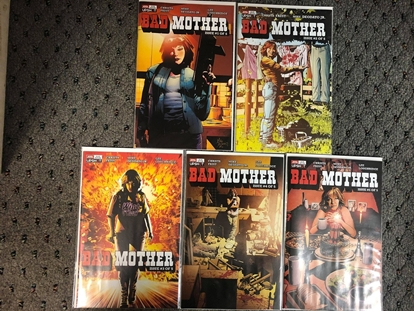 Picture of BAD MOTHER #1 2 3 4 5 / 1ST PRINT SET / FAUST-DEODATO UPSHOT