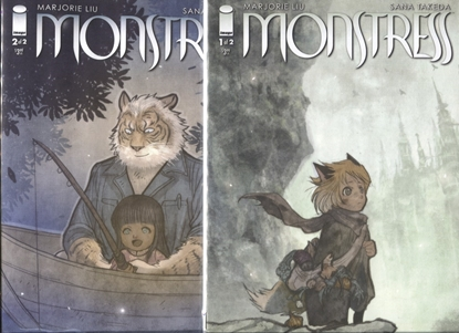 Picture of MONSTRESS TALK-STORIES #1-2 1ST PRINT SET NM
