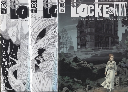 Picture of LOCKE & KEY IN PALE BATTALIONS GO #1 2 3 1:10 RI VARIANT COVERS