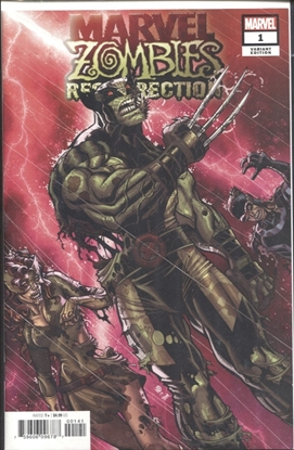 Picture of MARVEL ZOMBIES RESURRECTION #1 BRADSHAW VARIANT