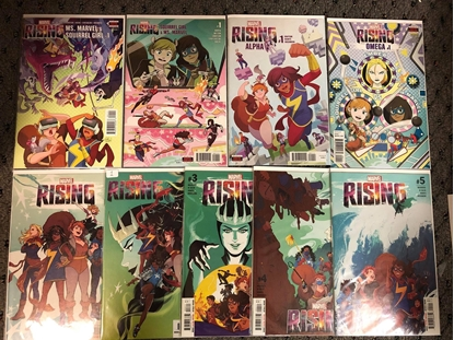 Picture of MARVEL RISING MS MARVEL SQUIRREL GIRL ALPHA OMEGE 1-5 SET