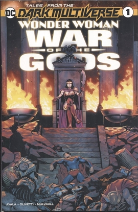 Picture of TALES FROM THE DARK MULTIVERSE WONDER WOMAN WAR OF THE GODS #1 (ONE SHOT)