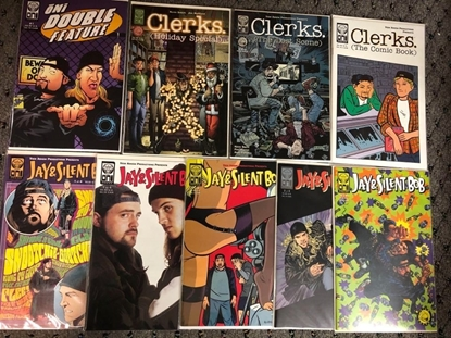 Picture of JAY & SILENT BOB #1 2 3 4 / ONI DOUBLE FEATURE / CLERKS ONE-SHOT SET