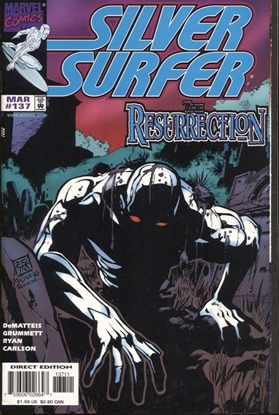 Picture of SILVER SURFER (1987) #137 8.5 VF+ LOW PRINT RUN