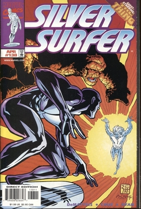 Picture of SILVER SURFER (1987) #138 9.6 NM+ LOW PRINT RUN