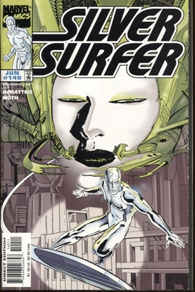 Picture of SILVER SURFER (1987) #140 8.5 VF+ LOW PRINT RUN