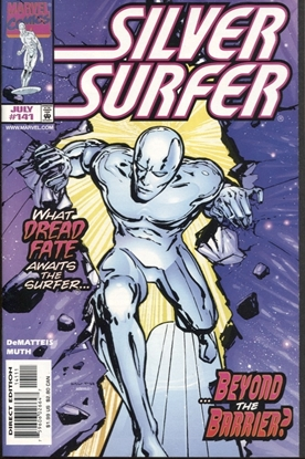 Picture of SILVER SURFER (1987) #141 9.4 NM LOW PRINT RUN