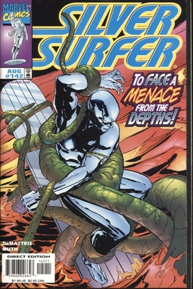 Picture of SILVER SURFER (1987) #142 9.2 NM- LOW PRINT RUN