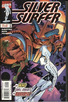 Picture of SILVER SURFER (1987) #145 9.4 NM LOW PRINT RUN