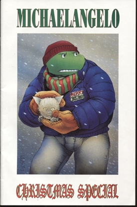 Picture of MICHAELANGELO CHRISTMAS SPECIAL (1990) #1 7.5 VF-