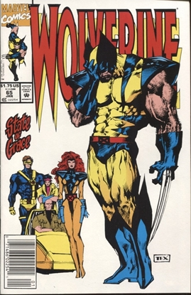 Picture of WOLVERINE (1988) #65 9.4 NM NEWSSTAND EDITION