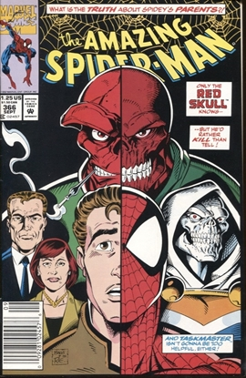 Picture of AMAZING SPIDER-MAN (1962) #366 9.2 NM- NEWSSTAND EDITION