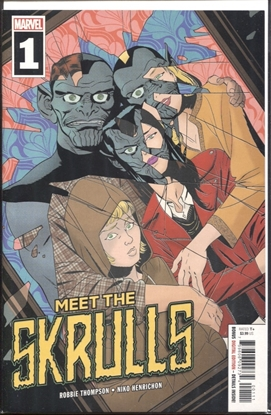 Picture of MEET THE SKRULLS #1 (OF 5)