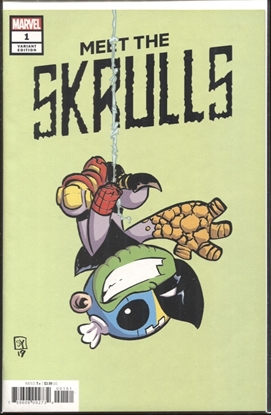 Picture of MEET THE SKRULLS #1 (OF 5) SKOTTIE YOUNG VARIANT COVER