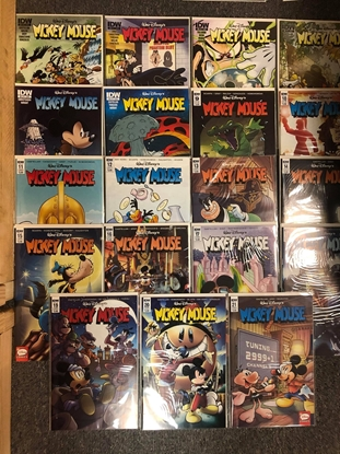 Picture of MICKEY MOUSE (2015) #1-21, #310-330 IDW SERIES