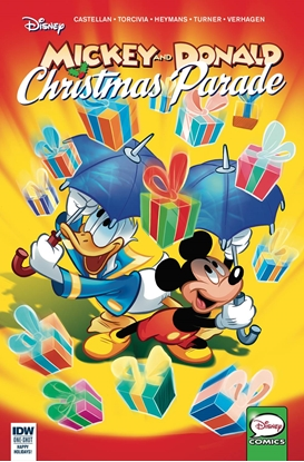 Picture of MICKEY AND DONALD CHRISTMAS PARADE #4