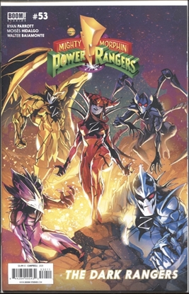 Picture of MIGHTY MORPHIN POWER RANGERS #53 CVR A CAMPBELL
