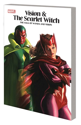 Picture of VISION & SCARLET WITCH TP SAGA WANDA & VISION