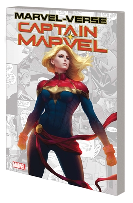 Picture of MARVEL-VERSE CAPTAIN MARVEL GN TP