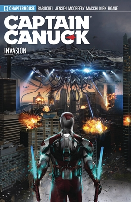 Picture of CAPTAIN CANUCK TP VOL 4 SEASON 4 INVASION