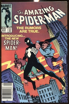 Picture of AMAZING SPIDER-MAN (1963) #252 NEWSSTAND EDITION 9.4 NM