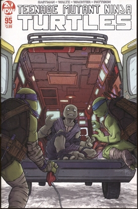 Picture of TMNT ONGOING #95 2ND PRINT