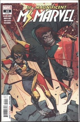 Picture of MAGNIFICENT MS MARVEL #10