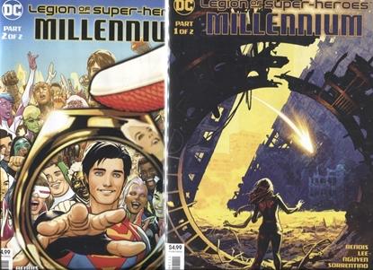 Picture of LEGION OF SUPER HEROES MILLENNIUM #1-2 SET