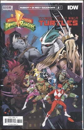 Picture of POWER RANGERS TEENAGE MUTANT NINJA TURTLES #3 CVR A MORA