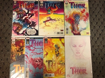 Picture of MIGHTY THOR #700 701 702 703 704 705 706 1ST PRINT SET NM