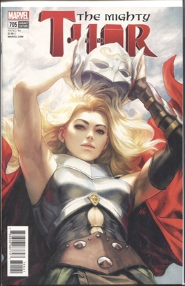 Picture of MIGHTY THOR #705 ARTGERM VARIANT COVER LEG
