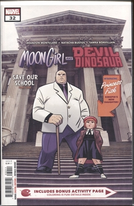 Picture of MOON GIRL AND DEVIL DINOSAUR #32