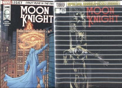 Picture of MOON KNIGHT #188 1ST PRINT & LENTICULAR COVER SET