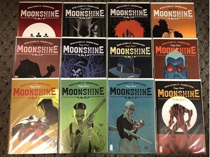 Picture of MOONSHINE #1 2B 3 4 5 6 7 8 9 10 11 12 / RISSO-AZZARELLO NM SET
