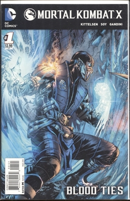 Picture of MORTAL KOMBAT X #1 COVER B VARIANT