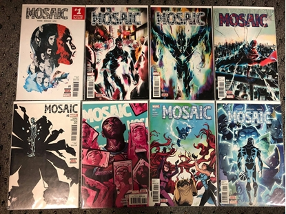 Picture of MOSAIC (2017) #1 2 3 4 5 6 7 8 / 1ST PRINT SET / THORNE-LOPEZ NM