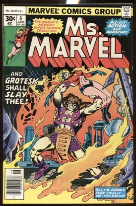 Picture of MS. MARVEL (1977) #6 9.0 VF/NM