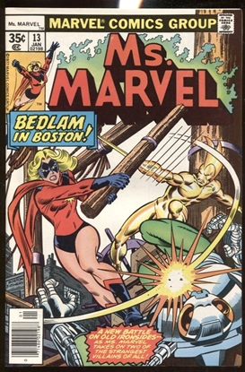 Picture of MS. MARVEL (1977) #13 9.2 NM-